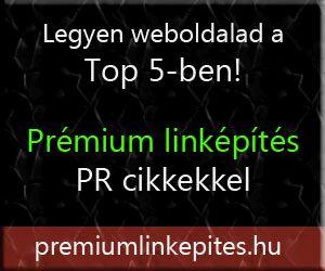 prémium linképítés banner